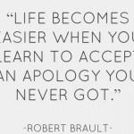 chấp nhận lời xin lỗi